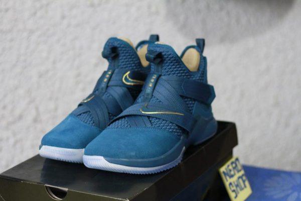 giày bóng rổ Nike Lebron soldier 12 nero shop