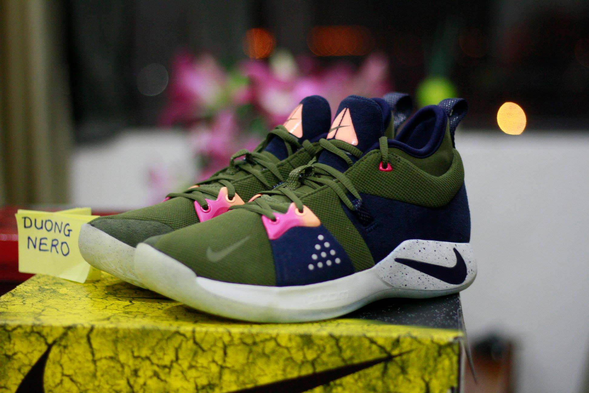 NIKE PG 2 OLIVE CANVAS OUTDOOR