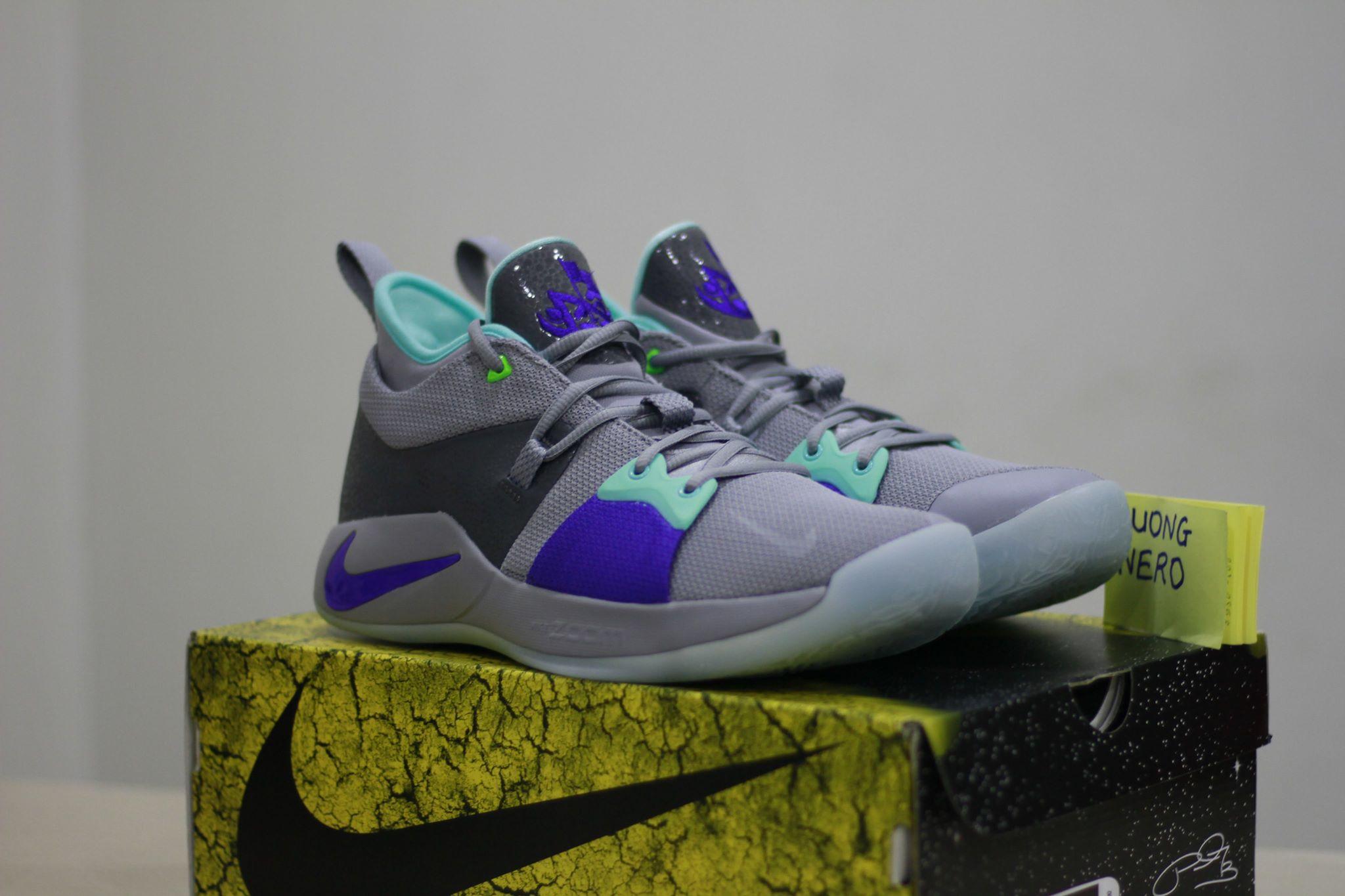 Nike PG2 pure platinum