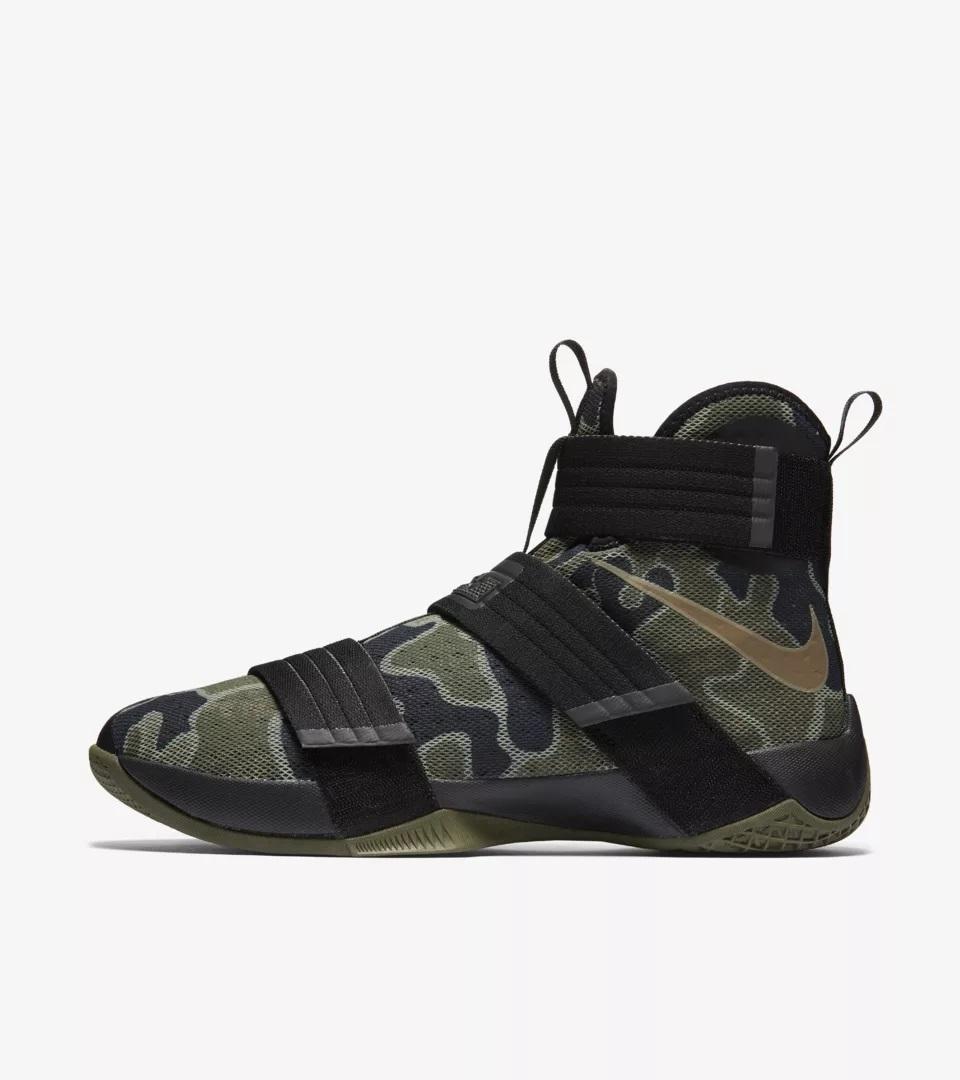 Nike Lebron Soldier X camo 844378-022