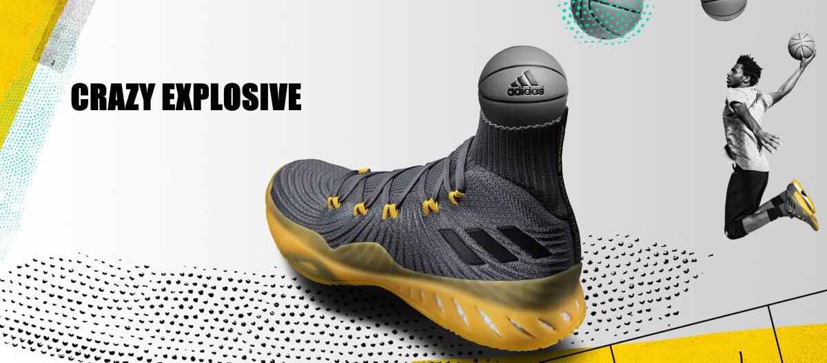 giày bóng rổ adidas crazyexplosive 2017